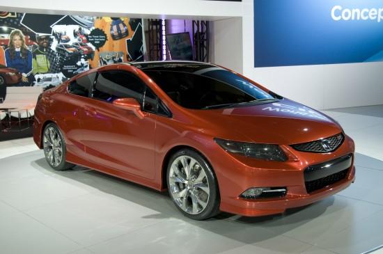 Honda Civic Coupe Concept Detroit
