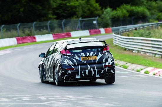 Honda Civic Type R Testing