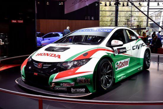 Honda Civic Type R World Touring Car Paris