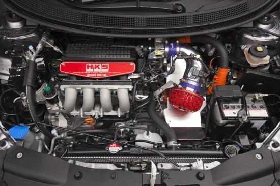 Honda CR-Z at SEMA