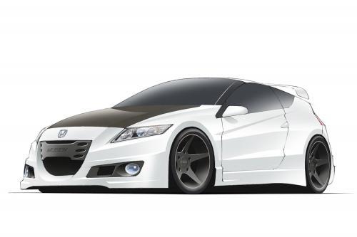 Honda CR-Z MUGEN прототип, эскиз