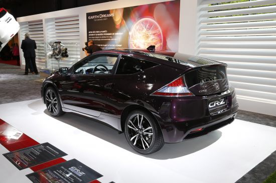 Honda CR-Z Paris