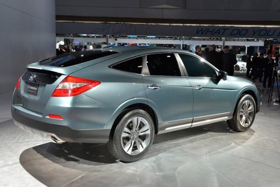 Honda Crosstour concept New York