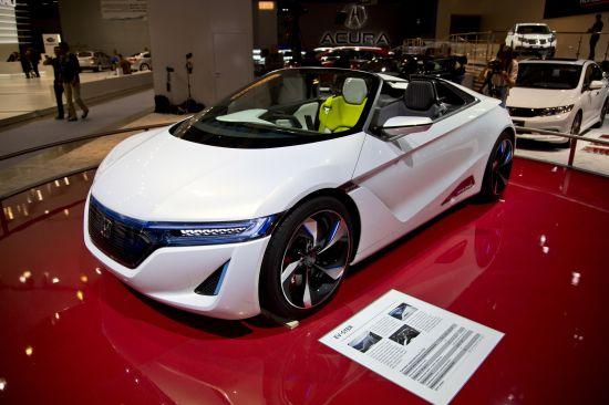Honda EV-STER Moscow