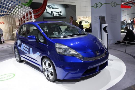 Honda Fit EV Concept Frankfurt