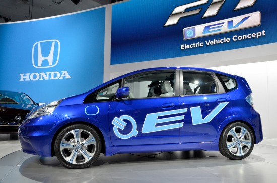 Honda Fit EV Los Angeles
