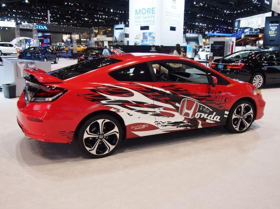Honda Forza Motorsport Civic Si Design Winner Chicago