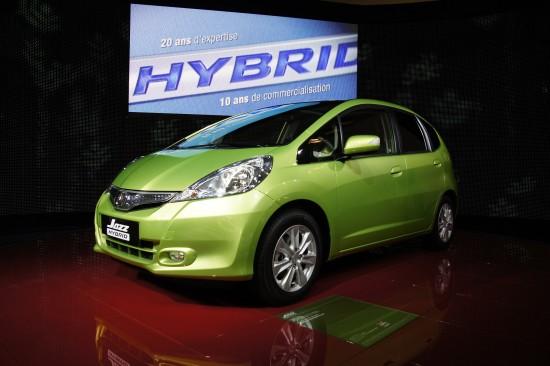 Honda Jazz Hybrid Paris
