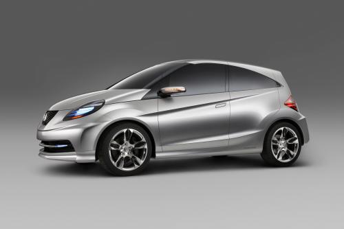 Honda New Small Concept светит на Auto Expo 2010
