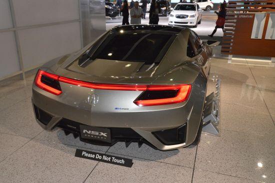 Honda NSX Concept Los Angeles
