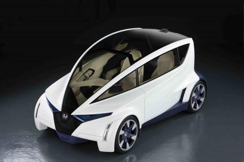 Honda P-NUT концепция описывает будущее городской мобильности