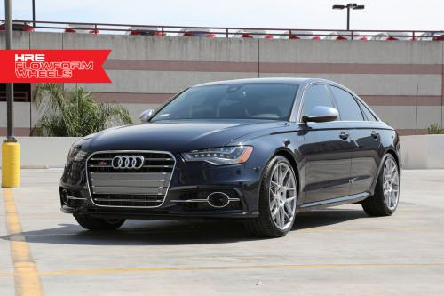 Moonlight Blue HRE Performance Wheels Audi S6