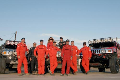 HUMMER H3 и H3 Alpha первой фондовой класса транспортных средств, чтобы закончить Baja