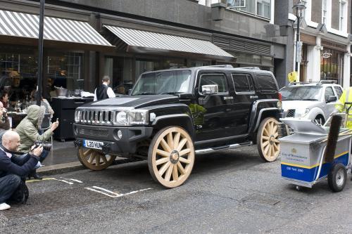 HUMMER H3 - конечная wagon wheel