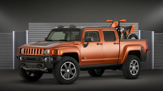 HUMMER H3T Weekend Warrior Concept