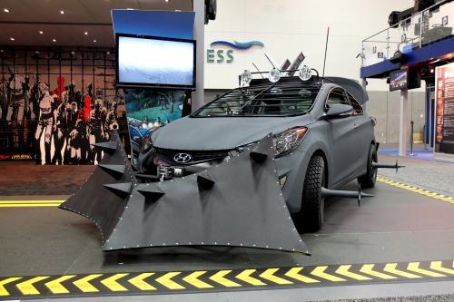 Hyundai Elantra Coupe: хорошо для выживания в зомби-Апокалипсис