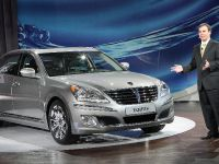 Hyundai Equus at New York Auto Show 2010