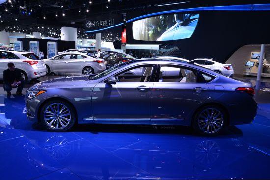 Hyundai Genesis Detroit