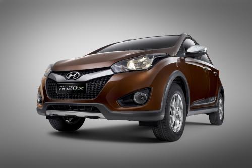 Hyundai HB20X выявлены в Бразилии