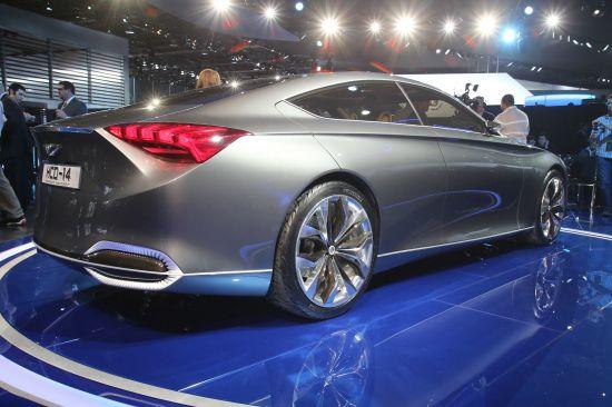 Hyundai HCD-14 Genesis Concept Detroit