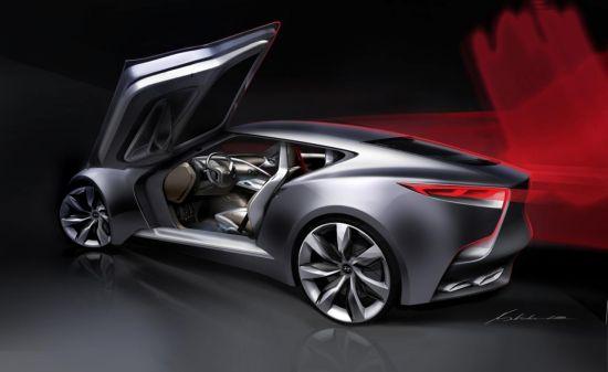 Hyundai HND-9 Concept sketch