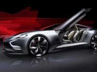 Hyundai HND-9 Concept sketch, 1 of 2