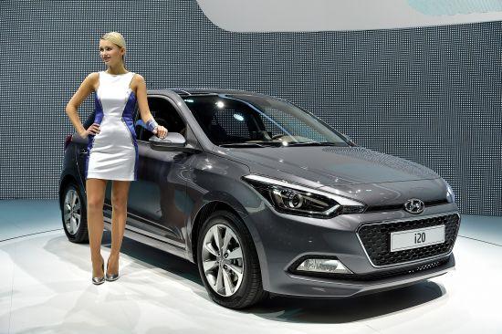 Hyundai i20 Paris