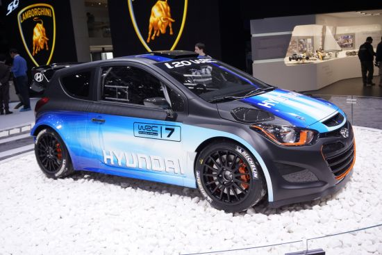 Hyundai i20 WRC Geneva