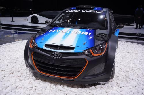 2013 Женевский автосалон: Hyundai I20 WRC