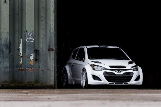 Hyundai i20 WRC Test Debut