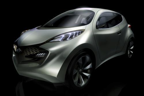 Hyundai ix-Metro concept во Франкфурте