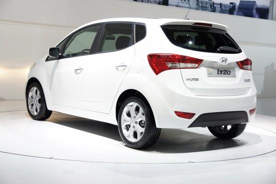 Hyundai ix20 Paris