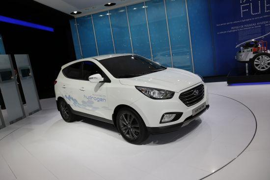 Hyundai ix35 Fuel Cell Paris