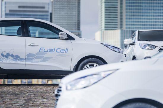 Hyundai ix35 Fuel Cell Vehicles