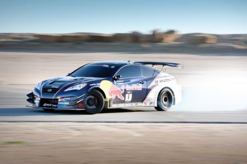 Hyundai запускает RMR Red Bull Drift Team спонсорство на Chicago Auto Show