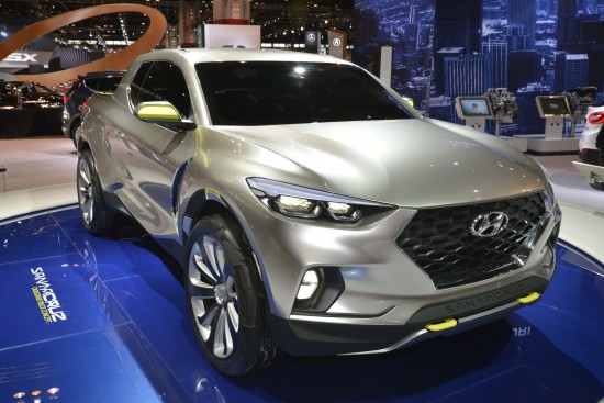 Hyundai Santa Cruz Crossover Truck Concept Chicago