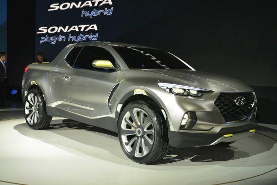 Hyundai Santa Cruz Crossover Truck concept Detroit