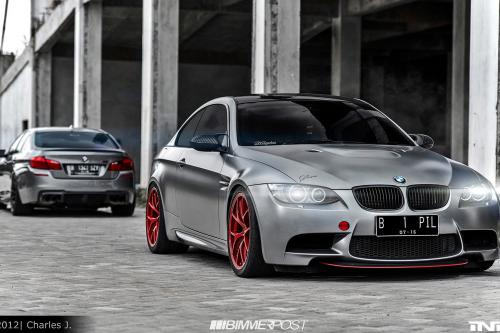 Два оттенка серого: IND BMW E92 M3 и M5 F10