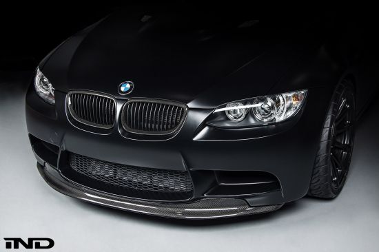 iND BMW E92 M3 Frozen Black