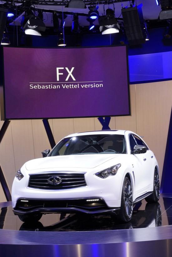 Infinit FX Sebastian Vettel version Frankfurt