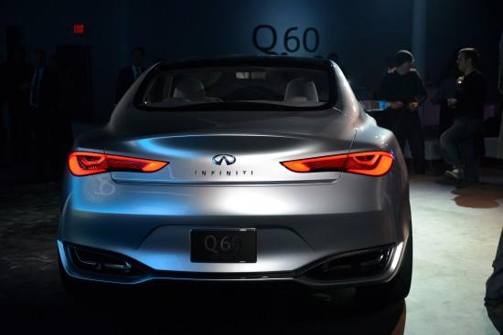 Infiniti Q60 concept Detroit