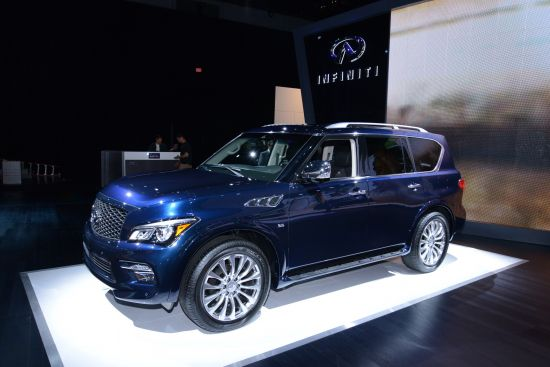 Infiniti QX80 New York