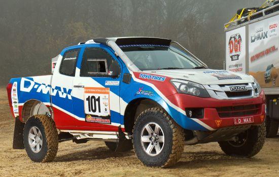 Isuzu D-Max Dakar