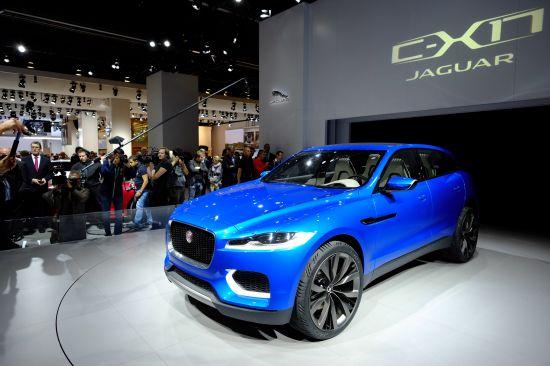 Jaguar C-X17 Sports Crossover Concept Frankfurt