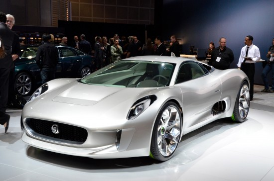 Jaguar C-X75 Concept Los Angeles