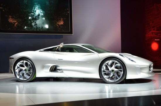 Jaguar C-X75 Concept Los Angeles