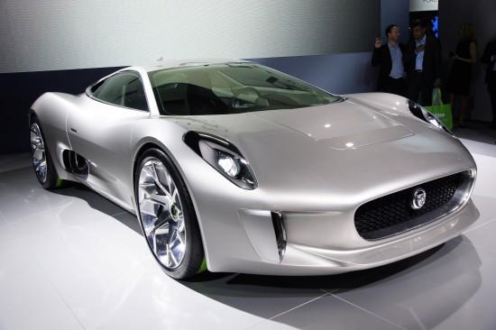 Jaguar C-X75 Concept Paris