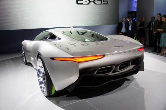 Jaguar C-X75 Concept Paris