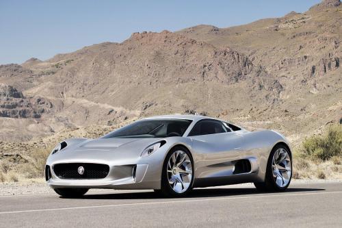 Jaguar C-X75 Concept представлен на автосалоне в Париже