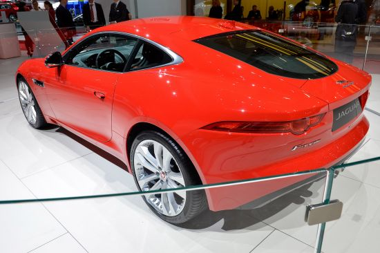 Jaguar F-TYPE Coupe Geneva